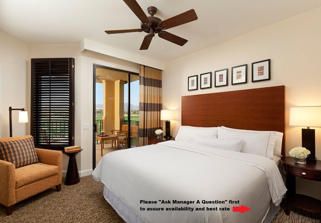 Best Ceiling Fans 2020 Three Westin Kierland   2BR 2BA Villas available for 2020