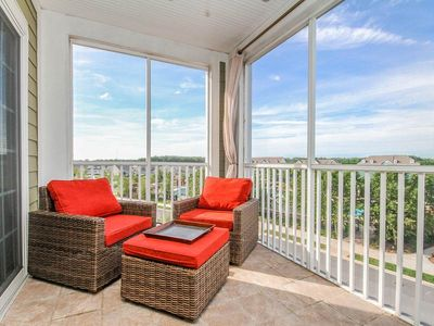 Photo for 26307: Bayside - 3 BR condo overlooking Sun Ridge - Golf, pools, tennis & more