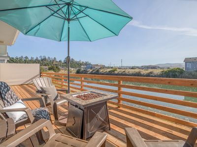 Photo for Dreamy, Updated Charmer has Large, Fenced Yard, Waterfront Deck Along Waldport S