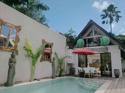 Photo for Secluded 2 BR Villa, Central Seminyak, 15 Mins Walk to Beach