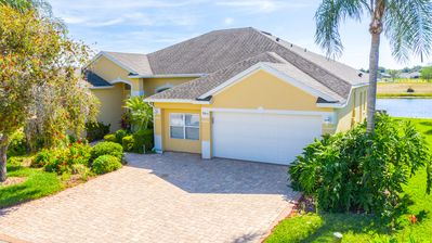 Photo for Overlooking Golf Course, Lovely 5 Bedroom Home!