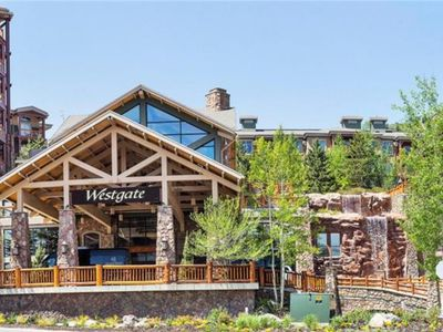 Photo for Luxury 5 Star Westgate Lodge 1 Bedroom Deluxe Ski-In/Ski-Out Suite Resort Destination