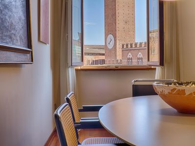 Photo for Wonderful apartment in Piazza del Campo, the center of Siena | Palazzo Giorgi