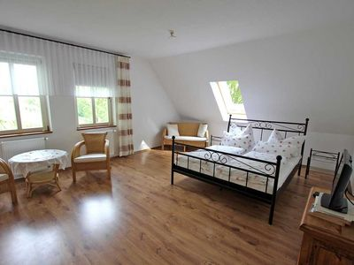 Photo for Holiday room UCK 1123 - Vacation property directly on the Zenssee Lychen UCK 1120