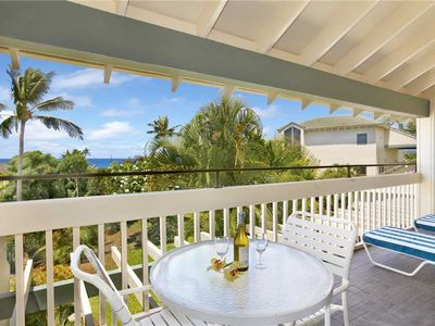 Photo for Poipu Stunning Ocean View A/C Master & Living Room*Manualoha 305*