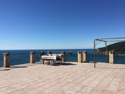 Photo for Apartment in Moneglia - 3 bedroom - sea view