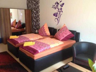 Photo for Family room (double room 2 with couch online) - Pension Paula