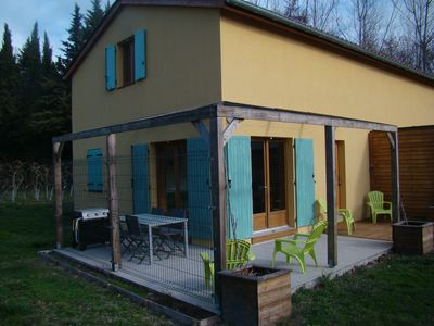 Photo for House with terrace, Avignon festival 12km away, Spirou park and wave island