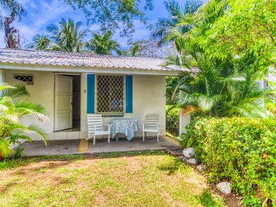 Photo for Cute villa at beachfront property w/ shared pool & beautiful gardens!