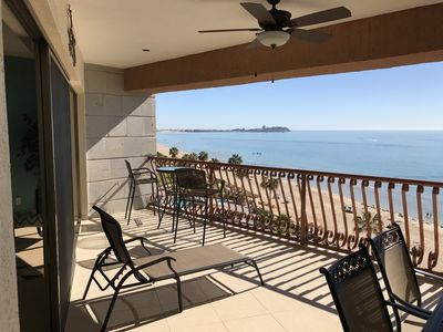 Photo for Beach Front 2 Bed 2 Bath Condo Sonoran Sun Resort Unit 605W