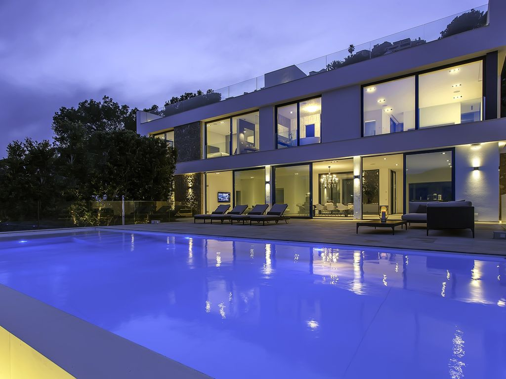 an exclusive new villa: villa infinitum is one of the most