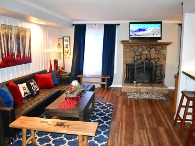 Photo for Unit #129- Newly remodeled Mountain Escape - Steps to Shuttle and walking distance to the Village!