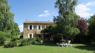 Photo for Authentic & Charming Provencal House.  near  UZES