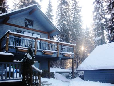 Husband's Vacation Villa in the Winter...