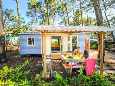 Photo for Camping Le Vieux Port ***** - Mobil home Resasol 3 rooms 4/6 people