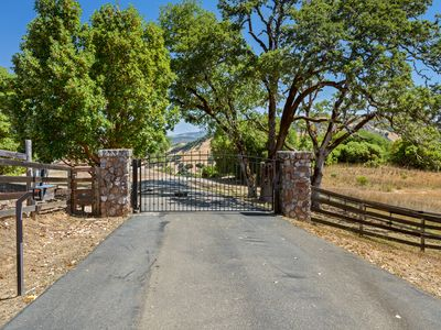 Photo for Lake Sonoma Single Family House on over 35 Private Gated Acres with VIEWS!