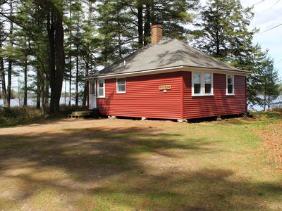 Photo for Pine Cove Cottage - Quaint Cottage on shores of Pemaquid Lake