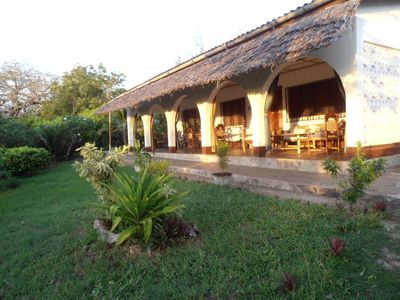 Photo for Experience a unique and sustainable vacation in Africa. Be environmently aware book our Eco-Friendly Villa