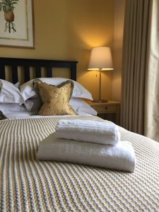 """The mattresses, as well as the bedding are of a superior quality"""" Ariane July`17"""