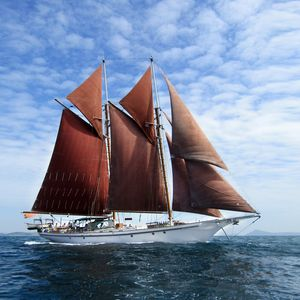 Photo for Classic Gaff Rigged Schooner