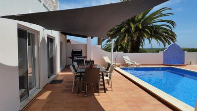 Photo for House with sea view and natural park, private pool .Last minute