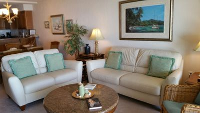Photo for Enjoy your oceanfront holiday in this comfortable three bedroom, three bath.