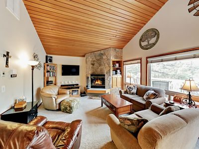 Living Room - Welcome to Sunriver! Your rental is professionally managed by TurnKey Vacation Rentals.