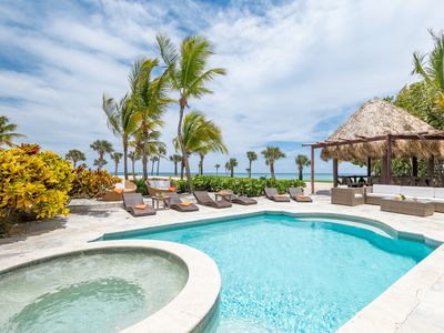 TWO OCEAN & GOLF VIEW VILLAS W/ CHEF, MAID, BUTLER, POOL, JACUZZI & BEACH CLUB