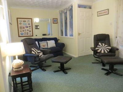 Photo for Two Fat Ladies....perfect bungalow for a couple or single - pets welcome