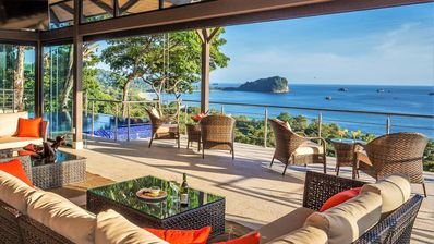 Photo for BEST OCEAN VIEWS in Manuel Antonio, Perfect for MULTI-FAMILIES & Yoga RETREATS