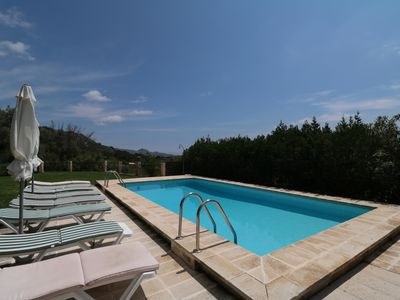 Photo for Can Suau, 6 bedrooms, great for families, pool - Country house for 12 people in Pollensa / Pollença