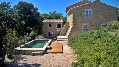 Photo for Holiday house for rent in Ardèche Méridionale in a quiet area with swimming pool