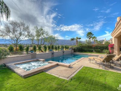 Photo for Luxury PGA West Home (5BR) on Hole 5 Greg Norman w/ pool/spa and gorgeous views