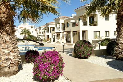All year maintained  pool and mediterranean gardens, bathe, sun relax,