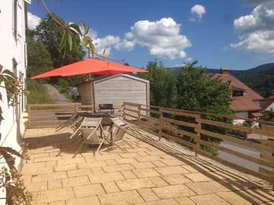 Photo for beautiful cottage with private spa 6 places in a farm Vosges