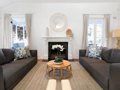 Photo for Hamptons Style Family Home 5 Minutes From Beach