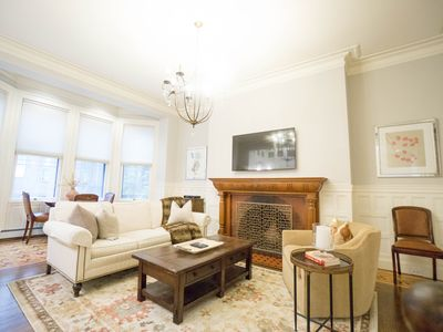 Photo for Luxury 4BR | 2.5BA Back Bay Duplex