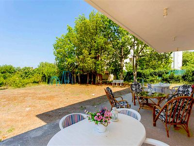 Photo for Picturesque villa in Porto Rafti with big garden 800 metres from the beach