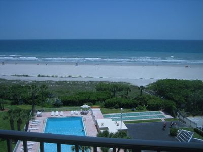 Photo for Stunning Direct Ocean Front Condo! Superb 8th floor View!