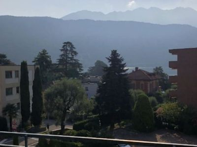 Photo for Comfortable apartment with lake view in the nice Melide - BELLA VISTA APARTMENT