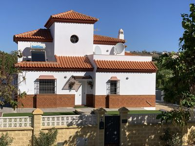Photo for Modern 5 bedroom Villa with large private pool on Spanish & Portuguese border