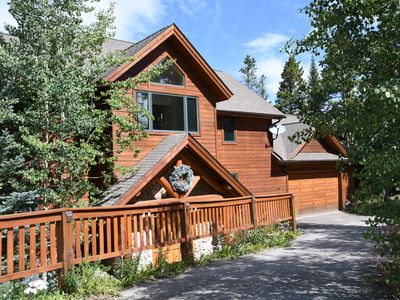 Photo for Stunning Views, Four Master Suites,  Hot Tub, Pool Table, Free Shuttle to Town