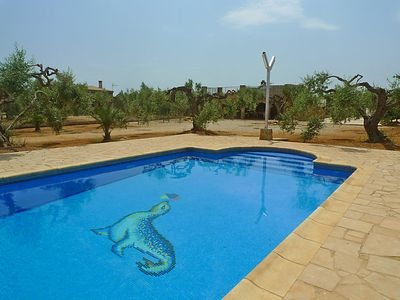 Photo for Vacation home Diseminat in L'Ampolla - 8 persons, 3 bedrooms