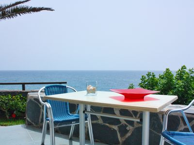 Photo for La Perla - Bungalowanlage DIRECTLY by the sea