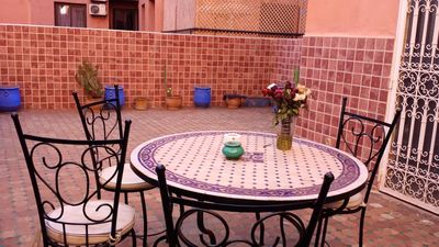 Photo for Homerez last minute deal - Spacious apt with terrace and Wifi