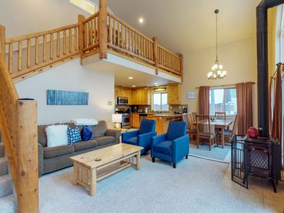 Photo for Cozy, family-friendly cabin w/ easy access to the slopes, lake, & trails!