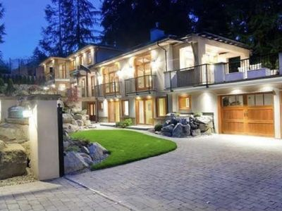 Photo for Modern Luxury West Vancouver Home - Discounted Rate for July & August