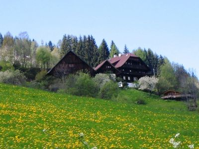Photo for Old farmhouse on 1100 m altitude between the Katsch Mountain & Millstätter Lake