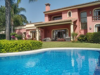 Photo for Luxury villa in Marbella (Guadalmina Baja)