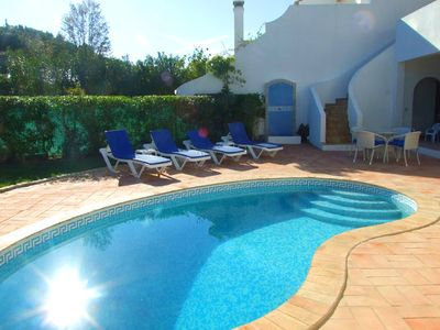 Photo for Townhouse with private pool, cable TV, WiFi and air-conditioning in Dunas Douradas V636
